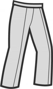 調理ズボンとは、飲食店の厨房などで使用される業務用のボトムスのことです。